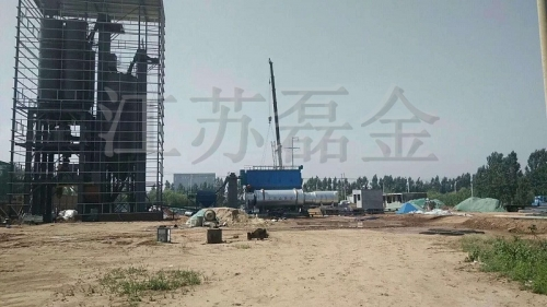 Jiangsu Leijin continuous energy-saving and environmental protection dry powder mortar production line